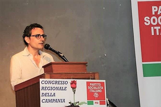 Tarantino Michele PSI: ATTESA PER LARRIVO DEL NEO SEGRETARIO REGIONALE A CASERTA