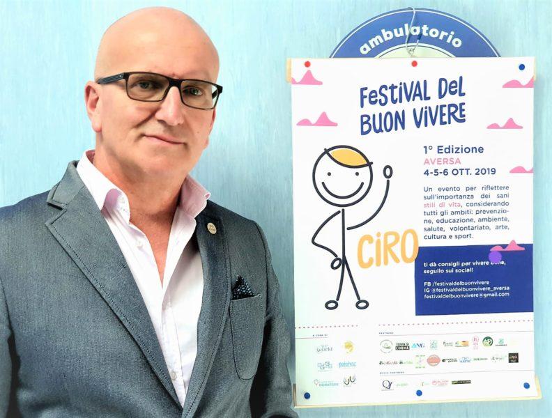 %name FESTIVAL DEL BUON VIVERE, ENRICO SANGIOVANNI (AVIS   CASA DEL DONATORE) INVITA AI CORRETTI STILI DI VITA