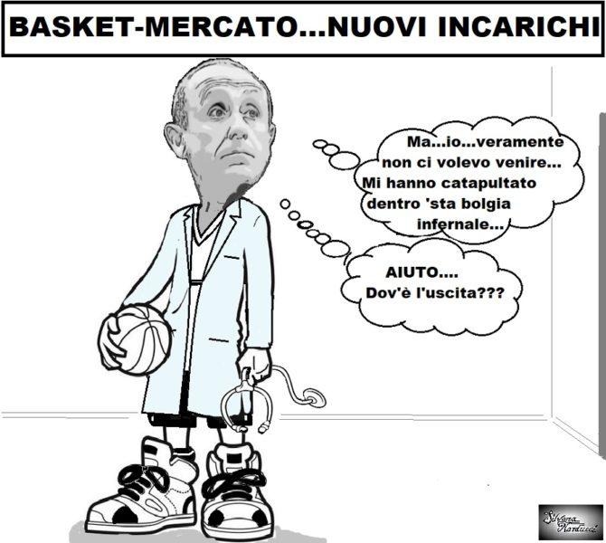 """basket mercato OSPEDALE, SGUEGLIA """"INGAGGIA"""" E LA INFANTE PROFETIZZA…"""