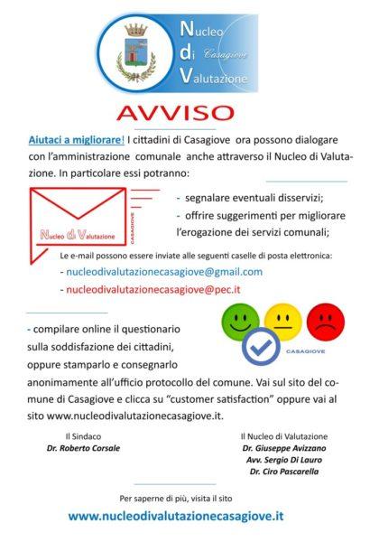 %name CASAGIOVE, ON LINE FILO DIRETTO TRA COMUNE E CITTADINI