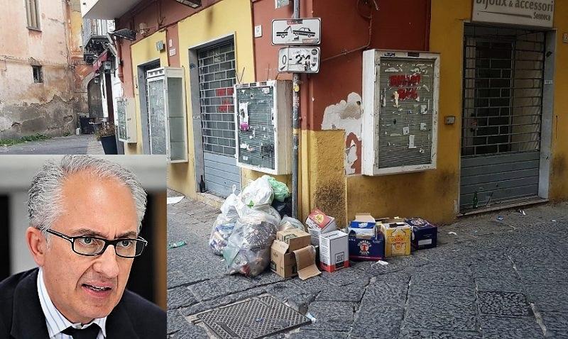 %name RIFIUTI A CASERTA: IL SINDACO BACCHETTA LECOCAR
