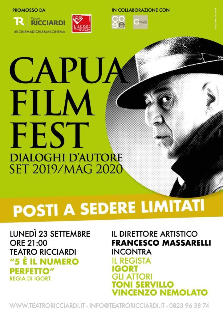 %name IGORT CE! INSIEME A SERVILLO PER IL CAPUA FILM FEST