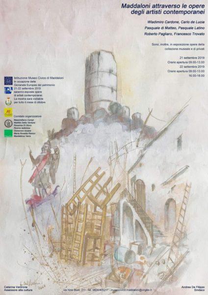 """museo civico maddaloni """"MADDALONI ATTRAVERSO LE OPERE DEGLI ARTISTI CONTEMPORANEI"""" AL MUSEO CIVICO"""