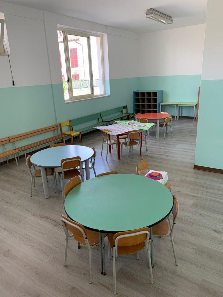 nuova aula scuola via volturno 2 768x1024 ALIFE, AVVIO DEL NUOVO ANNO SCOLASTICO, GLI INTERVENTI DELL'AMMINISTRAZIONE