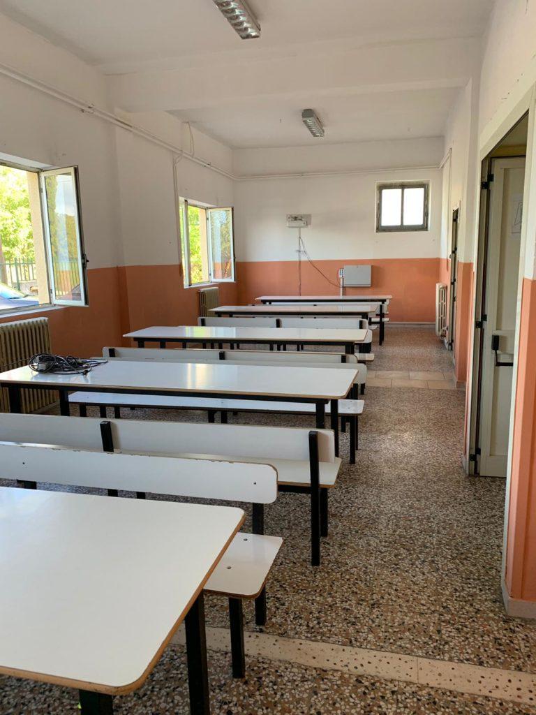 nuova sala refettorio scuola media via gramsci 768x1024 ALIFE, AVVIO DEL NUOVO ANNO SCOLASTICO, GLI INTERVENTI DELL'AMMINISTRAZIONE