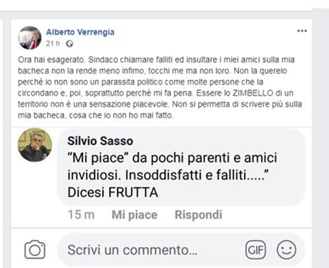 post 1 SESSA AURUNCA HA UN SINDACO COSÌ DICHIARATAMENTE ED ORGOGLIOSAMENTE ARROGANTE!