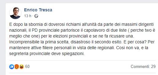post 3 SINTESI DI UN FALLIMENTO POLITICO FATTO DI GUERRA TRA BANDE, CAPI, CAPETTI E VICESOTTOCAPISCHIAVI