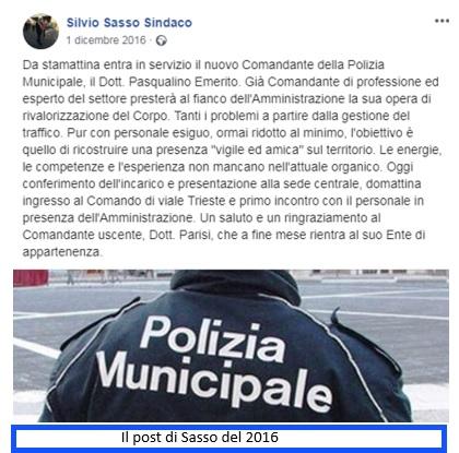 post SESSA AURUNCA: EMERITO SI PREPARA AD UNA EXIT STRATEGY DOPO GLI SCHIAFFONI PRESI DALL'ANAC...NEL SILENZIO DI SILVIO SASSO & CO.