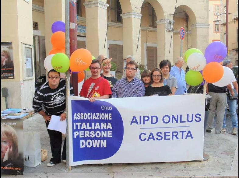 sensibilizzazione di piazza 1 DOWNTOUR 2019: OGGI A CASERTA...PER COMBATTERE IL PREGIUDIZIO