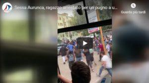 sessa aurunca 300x168 VIDEO   SESSA AURUNCA, RAGAZZO ARRESTATO PER PUGNO A VIGILE