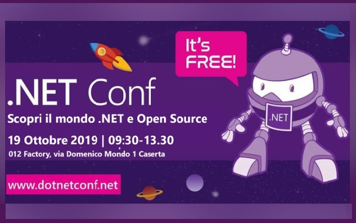 012 .NET CONFERENCE 2019: EVENTO 012 FACTORY