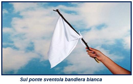 1 2 ASL, SUL PONTE SVENTOLA BANDIERA BIANCA E SOTTO SCORRONO LE GRADUATORIE