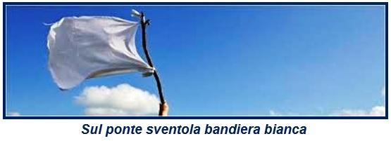 3 2 ASL, SUL PONTE SVENTOLA BANDIERA BIANCA E SOTTO SCORRONO LE GRADUATORIE