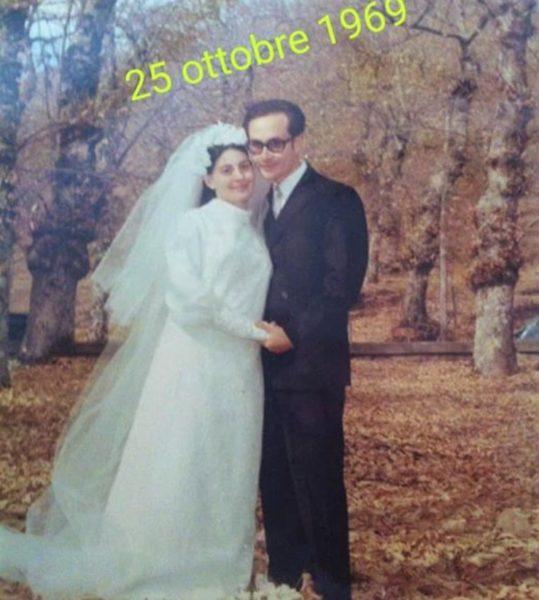 50esimo I CONIUGI CEMBALO, 50 ANNI DI MATRIMONIO...UNA VITA INSIEME