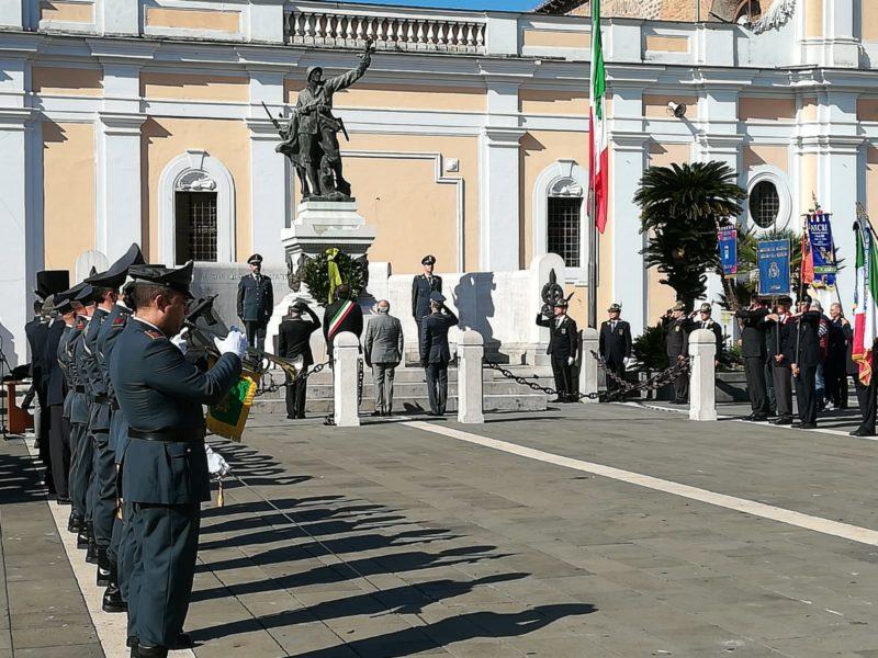 Cerimonia ANFI SMCV, INAUGURATA IN PIAZZA MAZZINI LA SEDE DELL'ASSOCIAZIONE NAZIONALE FINANZIERI D'ITALIA