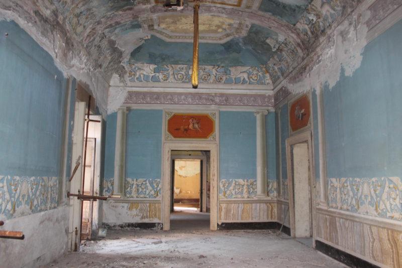 Palazzo teti interno BENI CONFISCATI: NASCE IL CENTRO ANTIVIOLENZA IN UN BENE DELLA CRIMINALITÀ ORGANIZZATA