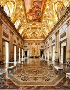 Trono 1 235x300 FAMIGLIE AL MUSEO, LA REGGIA APRE GRATUITAMENTE AL PUBBLICO DOMENICA 13 OTTOBRE