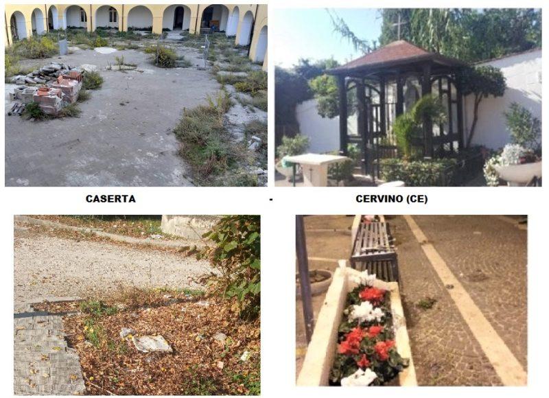 %name ARREDO URBANO, ORDINE E BELLEZZA: CERVINO 10 – CASERTA 0
