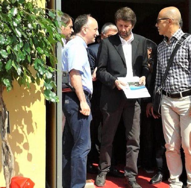 """don nicola lombardi e Ministro franceschini FRANCESCHINI: """"SI DEVONO SOSTENERE ARCHIVI E BIBLIOTECHE""""… MA DAVVERO?!?"""