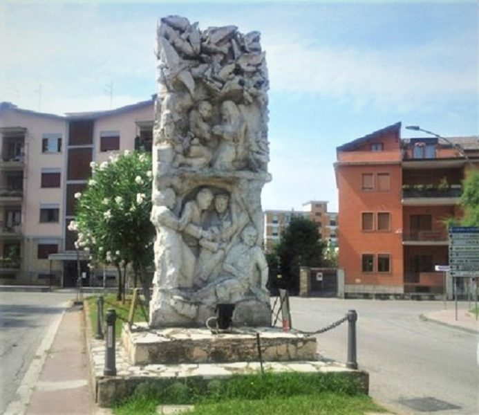monumento ai caduti sul FESTA ANNUALE ANMIL CON IL PATROCINIO DEL COMUNE DI CASERTA