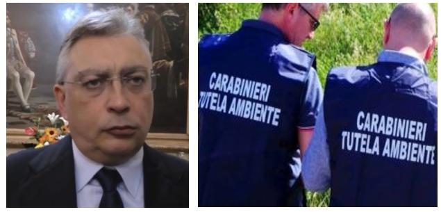 sasso carabinieri L'AMMINISTRAZIONE DI SILVIO SASSO SOTTO LA LENTE DELLA PROCURA PER IL REATO DI INQUINAMENTO AMBIENTALE