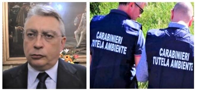 sessa 2 CARABINIERI IN MUNICIPIO ALLA RICERCA DELLE CARTE SULLA GESTIONE DEGLI SCARICHI REFLUI FOGNARI