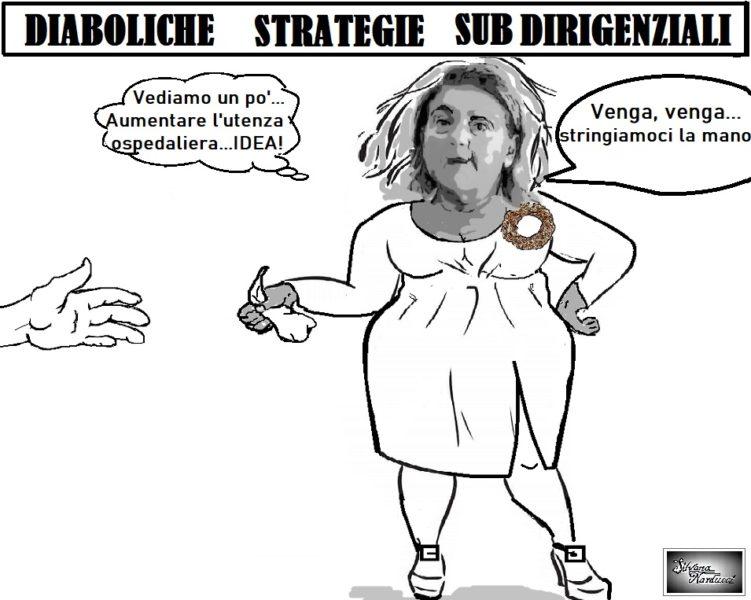 strategie diaboliche OSPEDALE, DELIBERA CHE VAI ... REFUSO CHE TROVI...