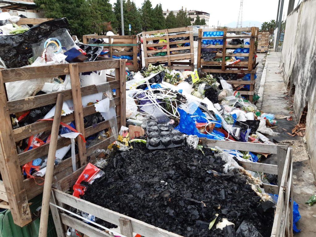 Smaltimento Rifiuti Sessa Aurunca maddaloni, sequestrati cumuli di rifiuti speciali nel