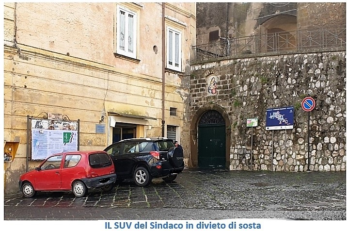 4 SESSA AURUNCA, TRAFFICO IN VIA OSPEDALE: I CITTADINI SI LAMENTANO E IL SINDACO PARCHEGGIA IN DIVIETO E VA A ROMA!