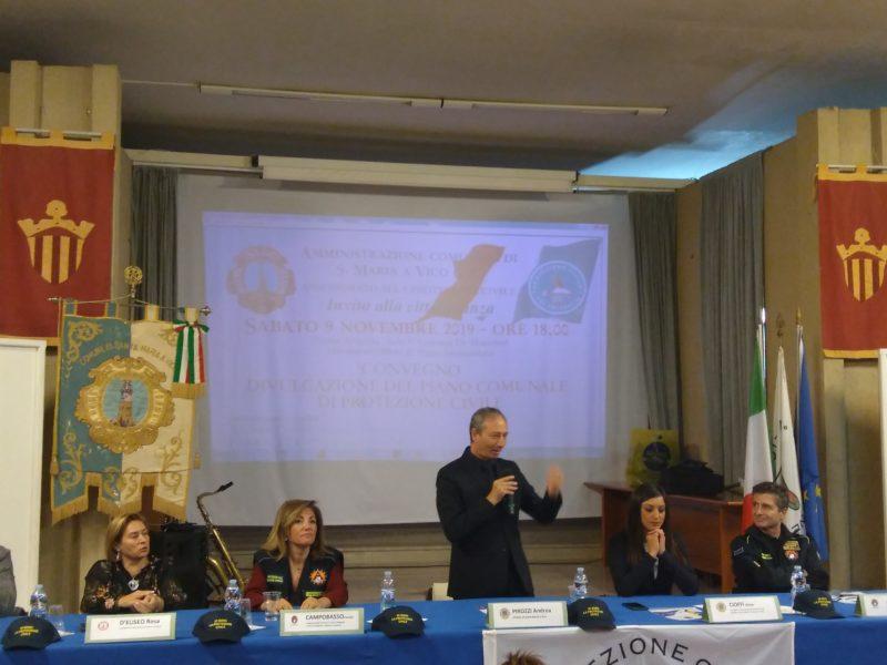SANTA MARIA A VICO, PRESENTATO NUOVO PIANO COMUNALE DI PROTEZIONE CIVILE - Appia Polis