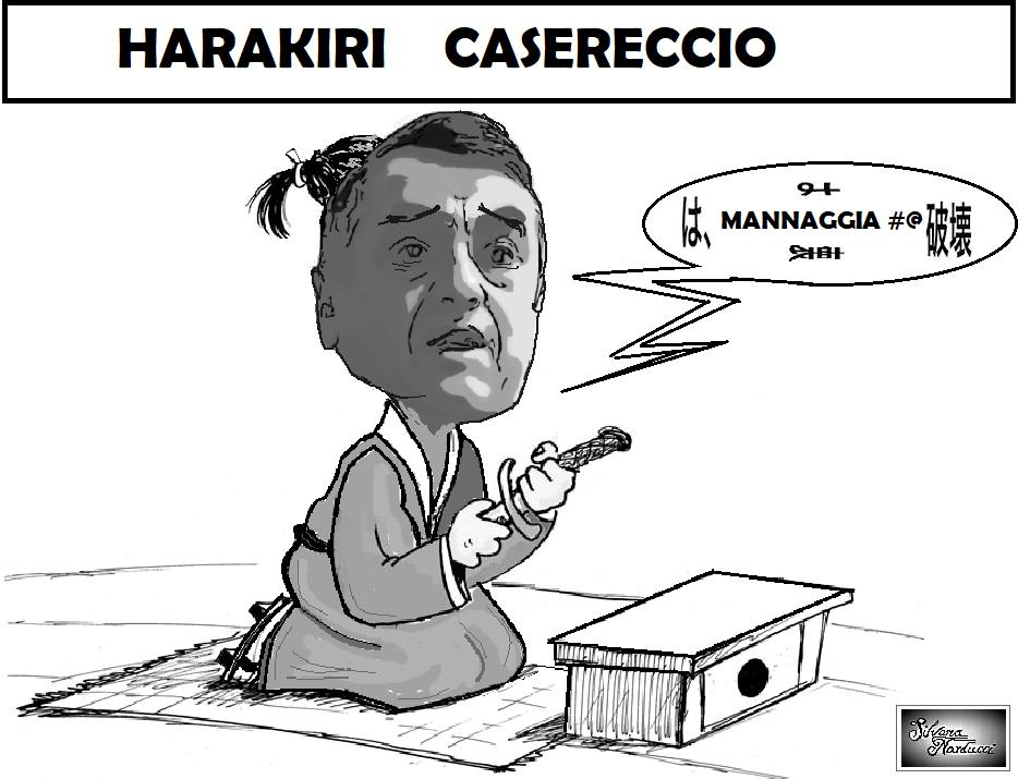 HARAKIRU CASERECCIO 05.11.19 OSPEDALE MOSCATI, PERRI: È TUTTO REGOLARE…