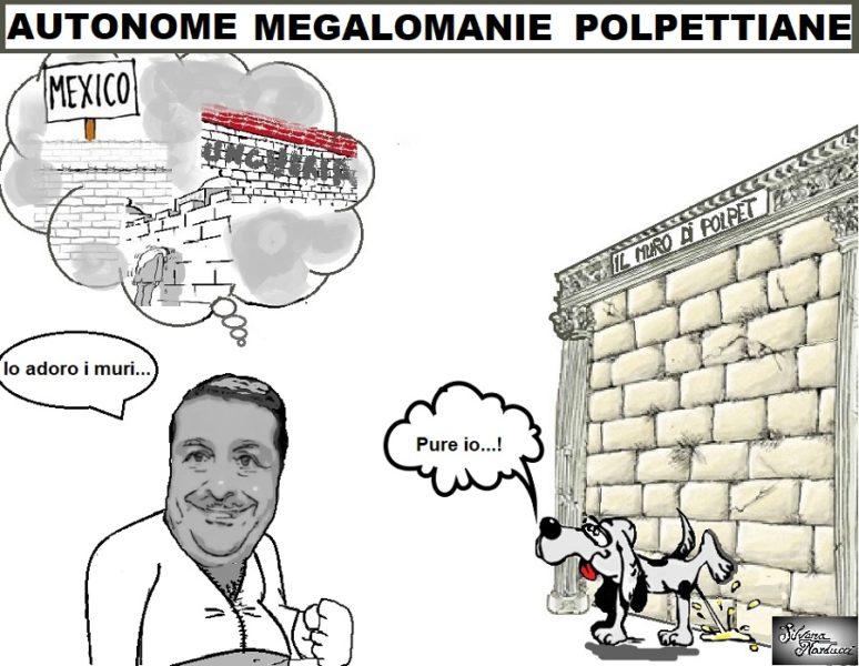 POLPET MURI LE STRABILIANTI INVENZIONI DI POLPET...SIGNORI... IL MURO!