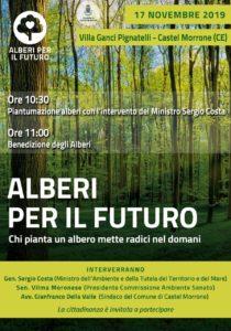 alberi per il futuro castel morrone 210x300 ALBERI PER IL FUTURO A VILLA GANCI PETRELLI