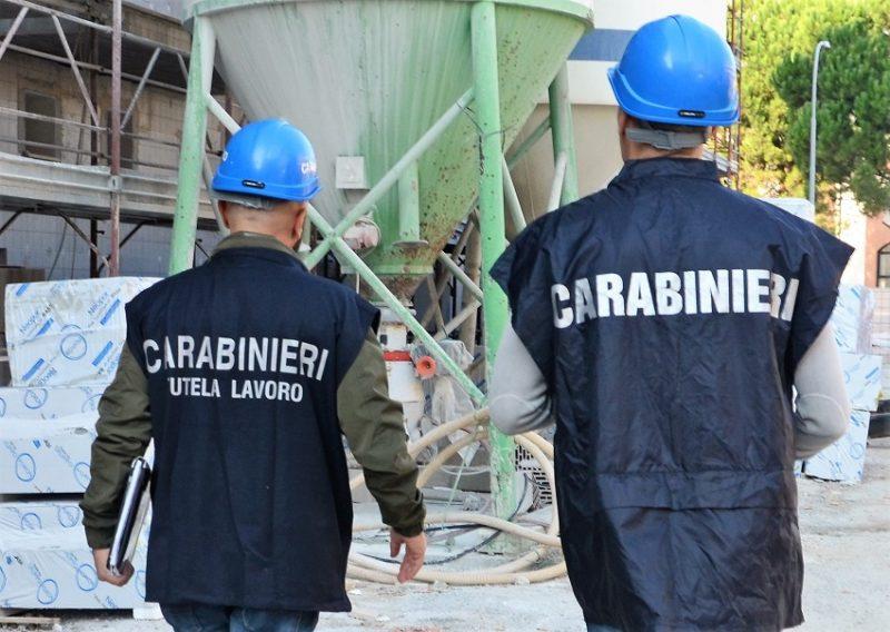 carabinieri cantieri ISERNIA: CONTROLLI PER LA SICUREZZA SUI LUOGHI DI LAVORO, DENUNCIATA TITOLARE DI UNA DITTA