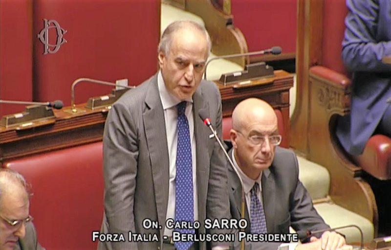 """carlo sarro SARRO (FI) A FAVORE DEI RESIDENTI DI TERZIGNO """"IL MINISTRO DEGLI INTERNI INTERVENGA PER LA SOSPENSIONE DELLO SGOMBERO"""""""