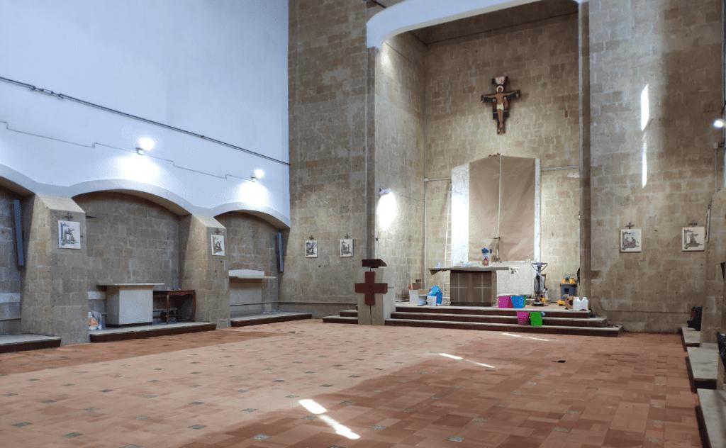 chiesa santa caterina 2 1024x632 ALIFE, VESCOVO PIAZZA E SINDACO DI TOMMASO RIAPRONO AL CULTO LA CHIESA DI SANTA CATERINA