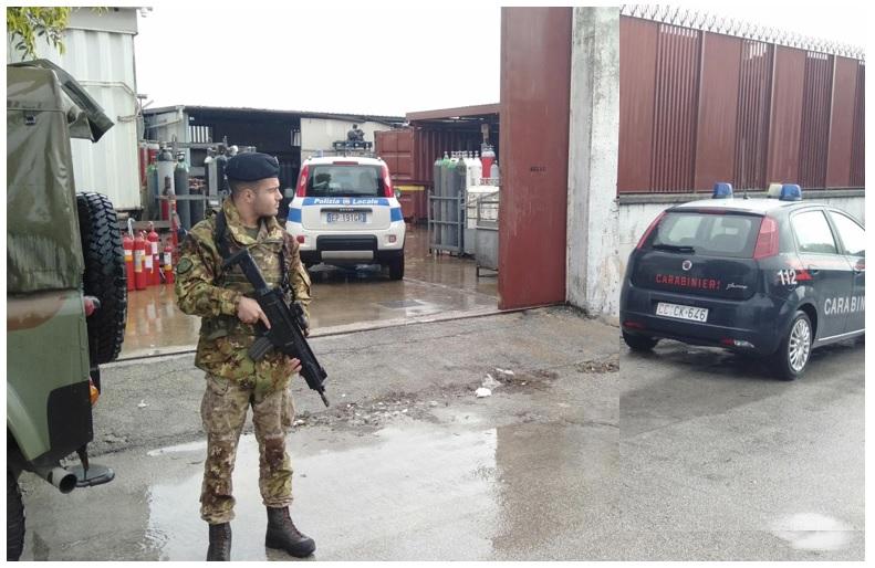 esercito RAPPORTO INCARICATO TERRA DEI FUOCHI: 5 ATTIVITÀ E 3 VEICOLI SEQUESTRATI, 30MILA EURO DI SANZIONI