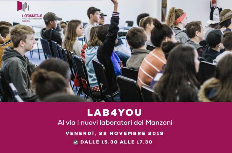 """liceo manzoni caserta laboratori 1 LABORATORI DI ORIENTAMENTO, LICEO """"MANZONI"""" PRONTO PER IL SECONDO ROUND"""