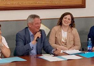 lillo e santorelli 300x211 SI RIUNISCE COMMISSIONE PER MODIFICHE REGOLAMENTI COMUNALI