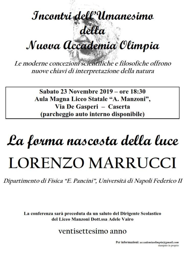 """olimpia loc XXVII 7 A3 001 724x1024 LICEO MANZONI, """"LA FORMA NASCOSTA DELLA LUCE"""": NE PARLA IL PROF. LORENZO MARRUCCI"""