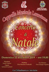 Concerto Lauretana Natale 2019 205x300 CONCERTO DI NATALE AD AVERSA IL 22 DICEMBRE