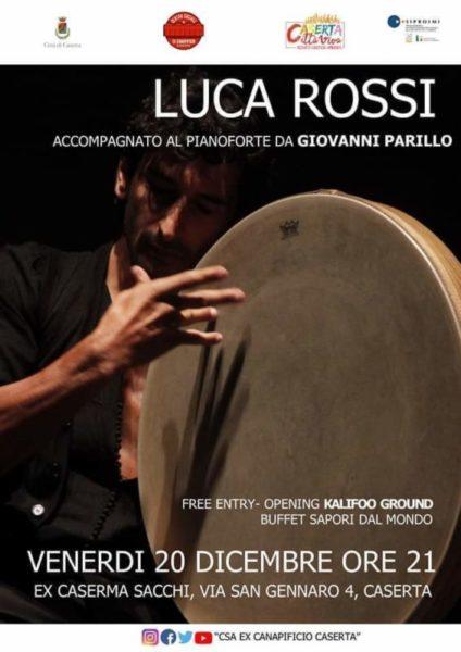 Luca Rossi per La casa del sociale scaled LA CASA DEL SOCIALE: STASERA LUCA ROSSI IN CONCERTO