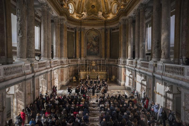 Orchestra da Camera concerto scaled LA XXV EDIZIONE DI AUTUNNO MUSICALE TERMINA ALLA REGGIA E AL MUSEO DI CAPUA