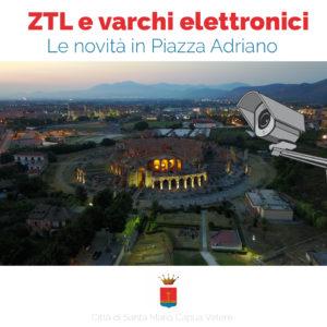 ZTL Piazza Adriano 300x300 ZTL E VARCHI ELETTRONICI IN PIAZZA ADRIANO, IL VIA LIBERA DEL SINDACO