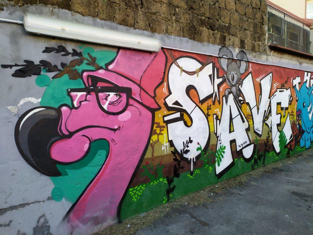 %name SAVE THE PLANET: INIZIATIVA DI GRAFFITISMO ORGANIZZATA DAL FORUM DEI GIOVANI
