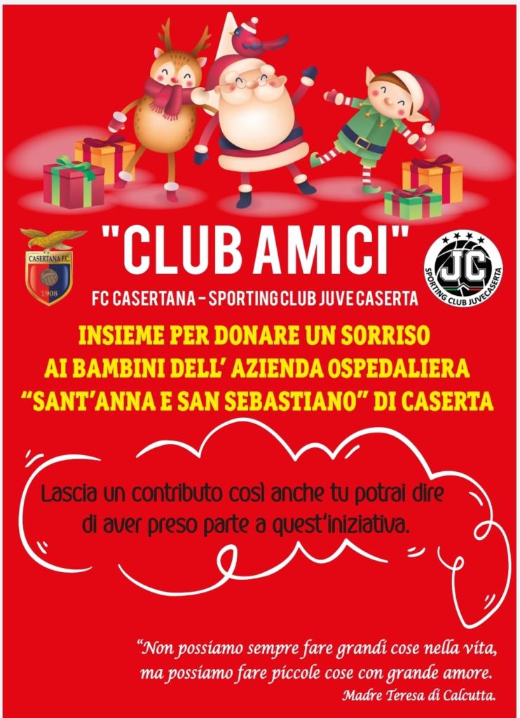 locandina 742x1024 CLUB AMICI DI CASAGIOVE, DOMANI TUTTI INSIEME PER UN NATALE A MISURA DI BAMBINO