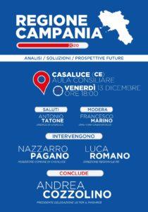 locandina casaluce 210x300 CASALUCE, INCONTRO CON IL PUBBLICO IL 13 DICEMBRE SULLA REGIONE CAMPANIA