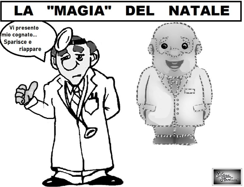 magico natale OSPEDALE MOSCATI, PENSIERI, PAROLE, INTENZIONI E…SOFISMI