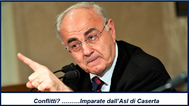 on. Elio Lannutti M5S  ASL, L'ON. ELIO LANNUTTI SI APPELLA ALLENTE CASERTANO!