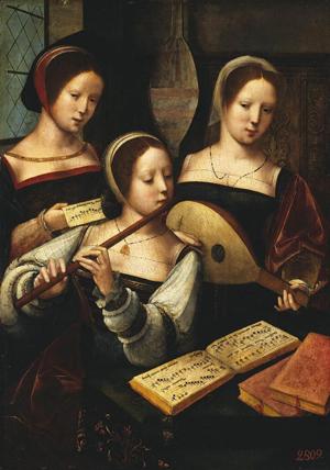 Concerto di dame rinascimentali LE DONNE E LA MUSICA